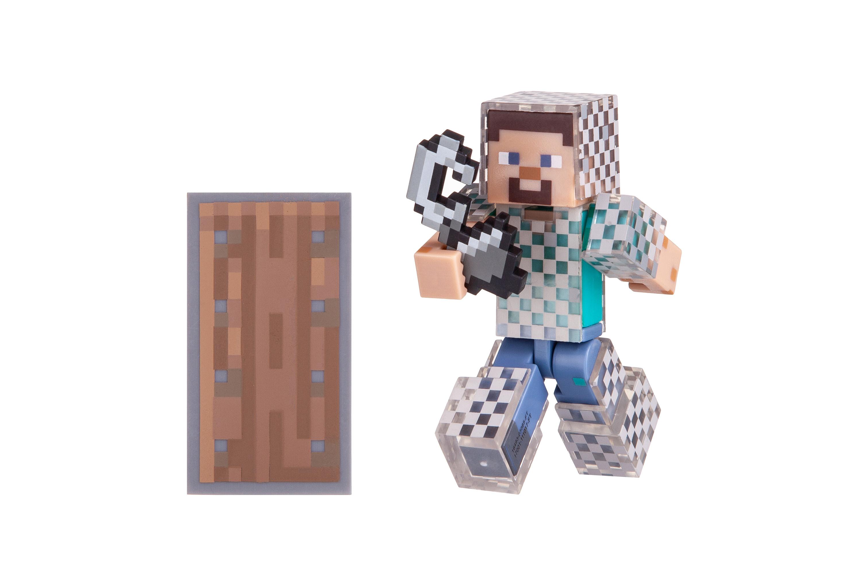 Minecraft Ігрова фігурка Steve in Chain Armor серія 4