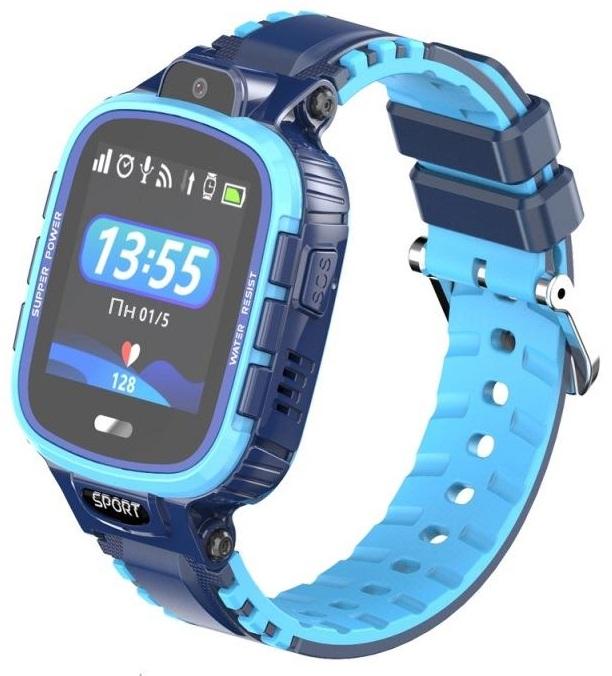 GoGPSme Детские телефон-часы с GPS трекером GOGPS ME K27[K27BL]