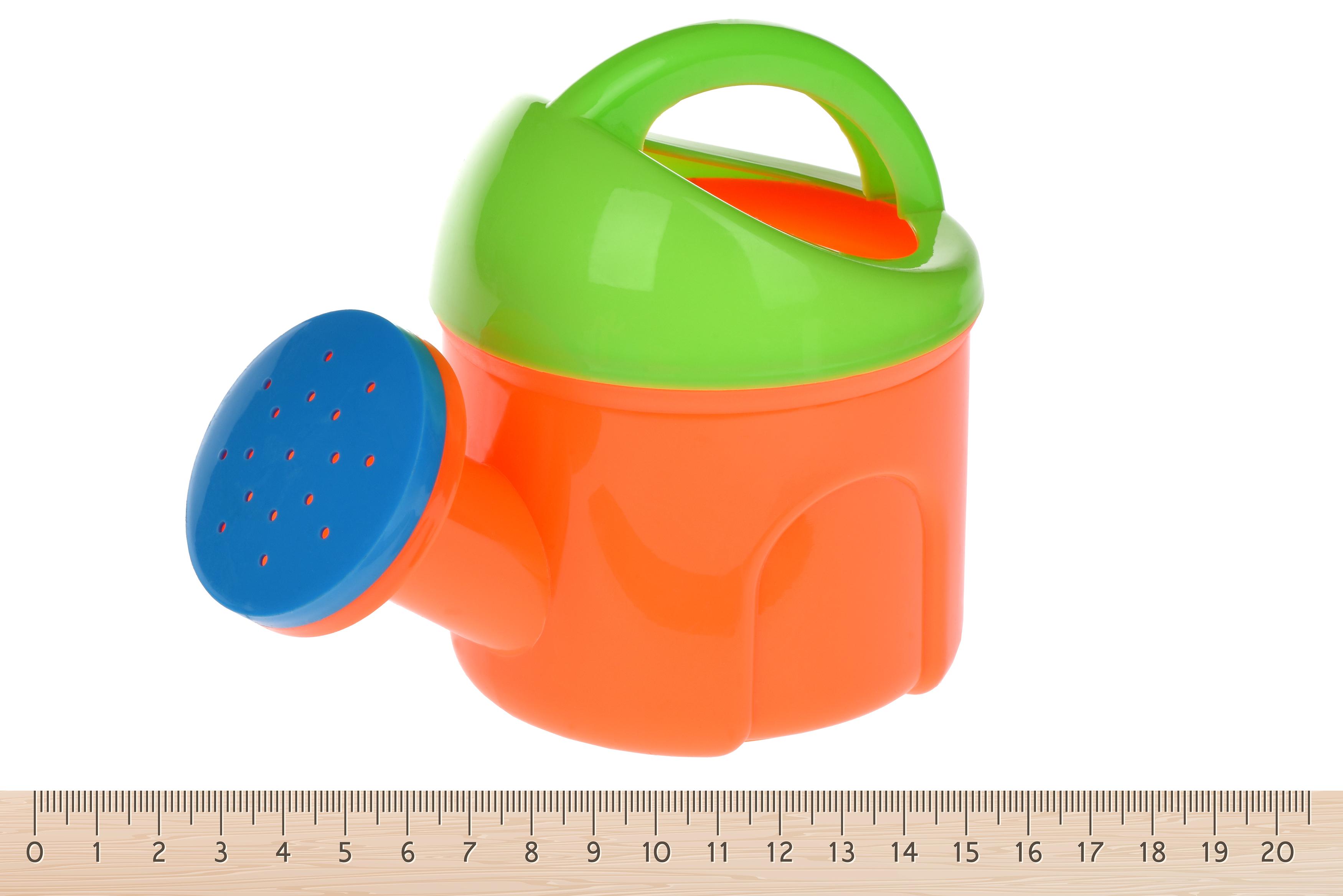 Same Toy Набір для гри з піском із Повітряною вертушкою (помаранчева лійка) 4 шт.