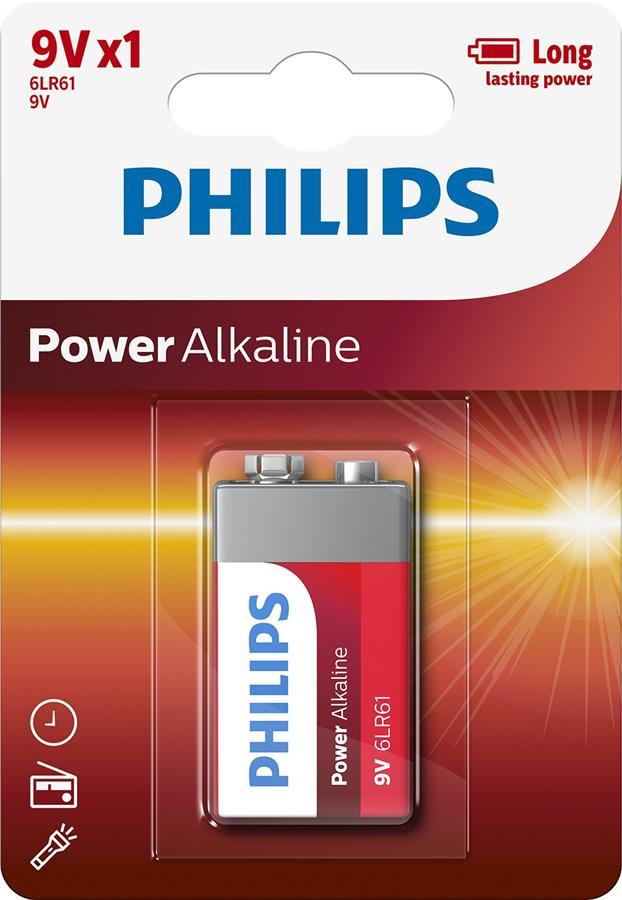 Philips Power Alkaline[6LR61P1B/10]