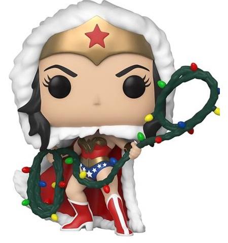 Funko Колекційна фігурка Funko POP! DC: Holiday: Wonder Women with Lights Lasso