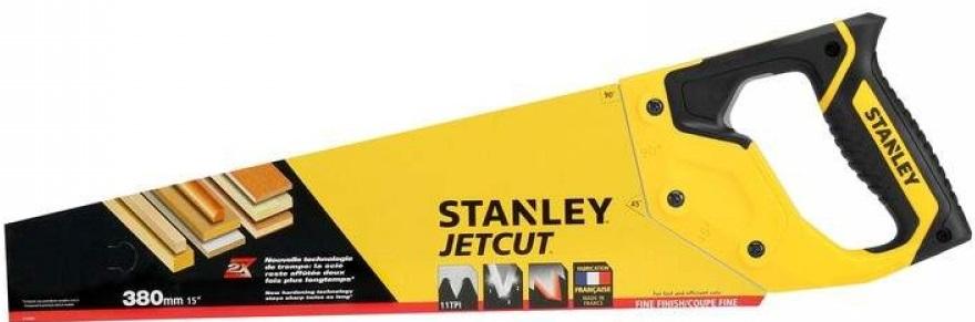 Stanley 2-15-594 Ножовка  по дереву 380мм 11TPI