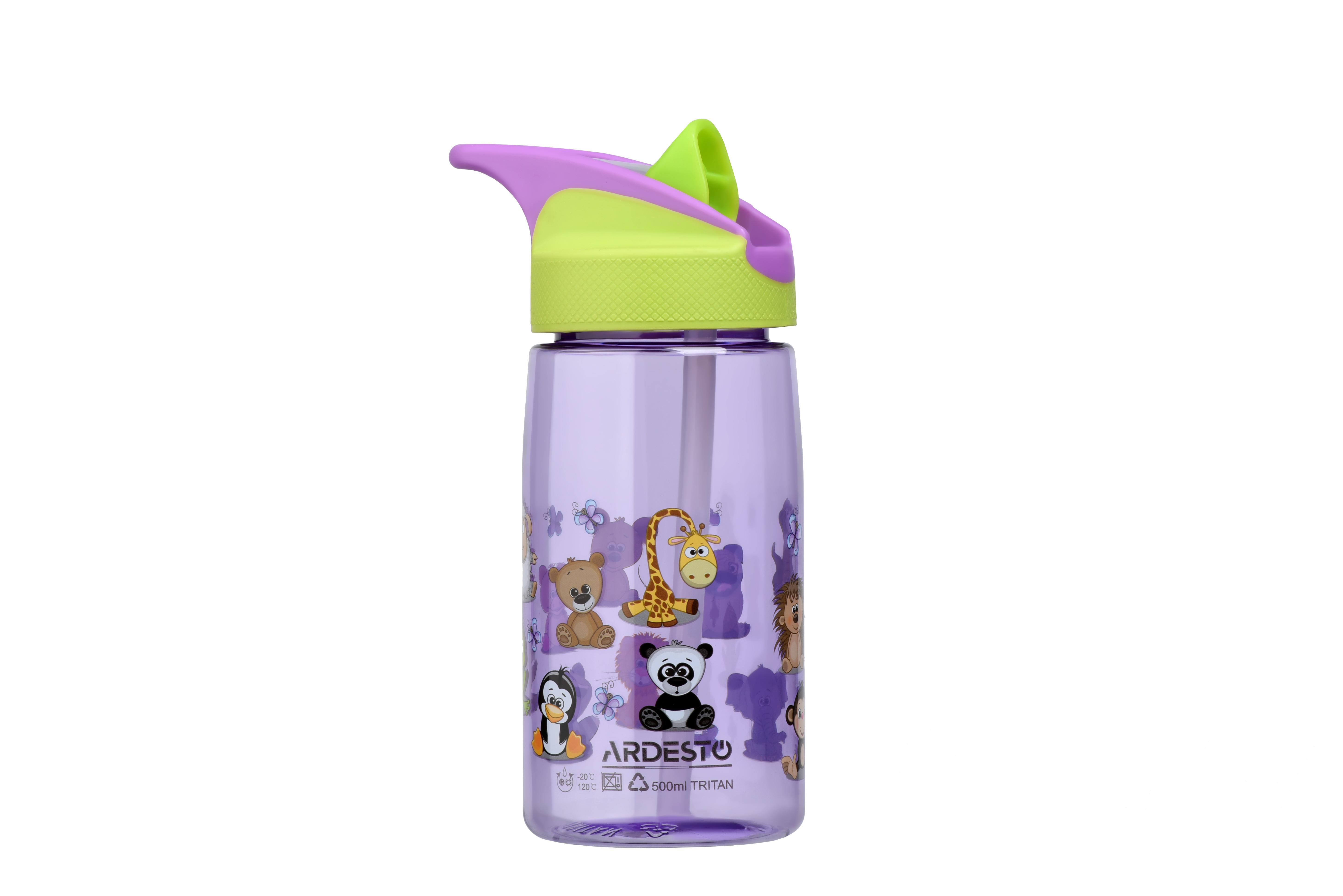 ARDESTO Пляшка для води дитяча[Funny Animals]