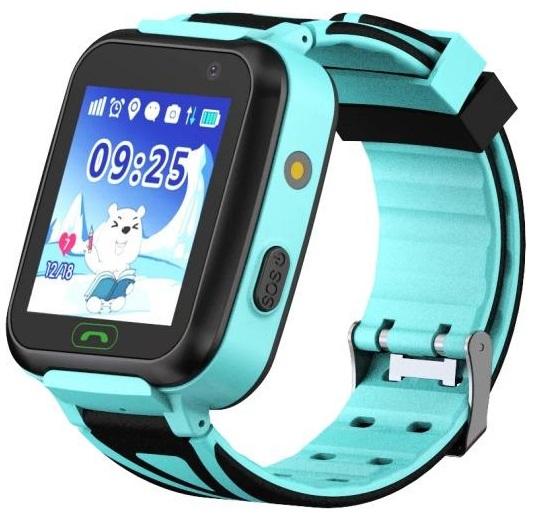 GoGPSme Детские телефон-часы с GPS трекером GOGPS К07[K07BL]