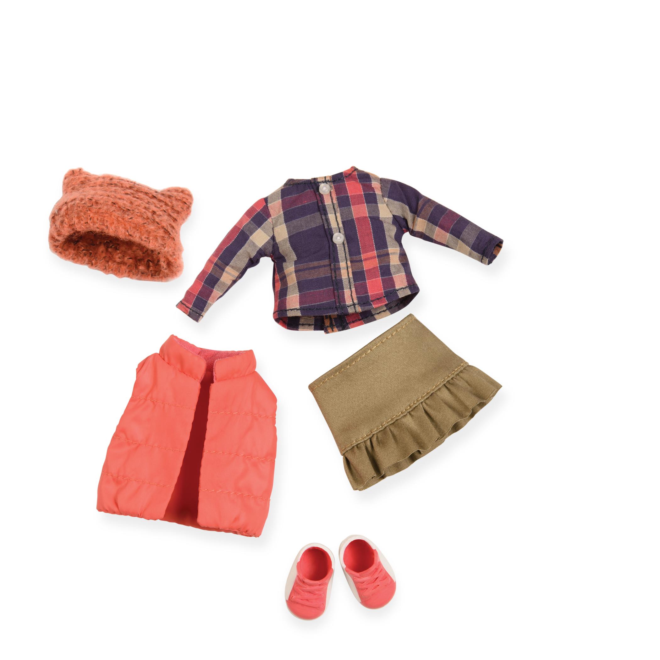 LORI Набір одягу для ляльок - Пуховой жилет