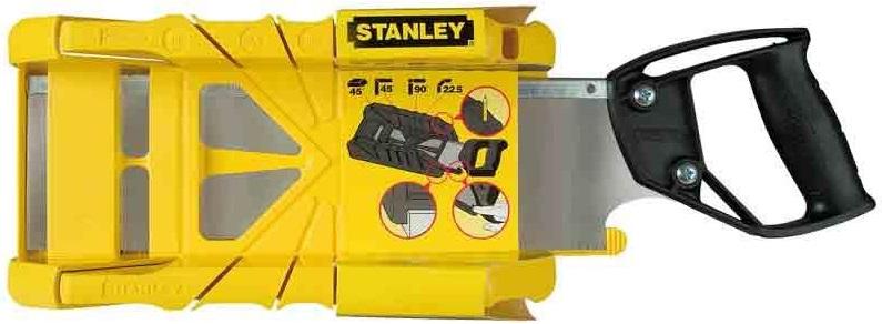 Stanley 1-19-800 Стусло пластик 275 мм с ножовкой