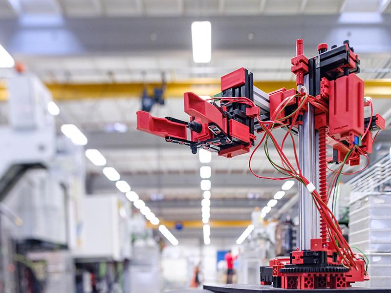fischertechnik Конструктор STEM Робототехніка в промисловості