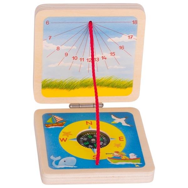 goki Кишеньковий сонячний годинник Peggy Diggledey