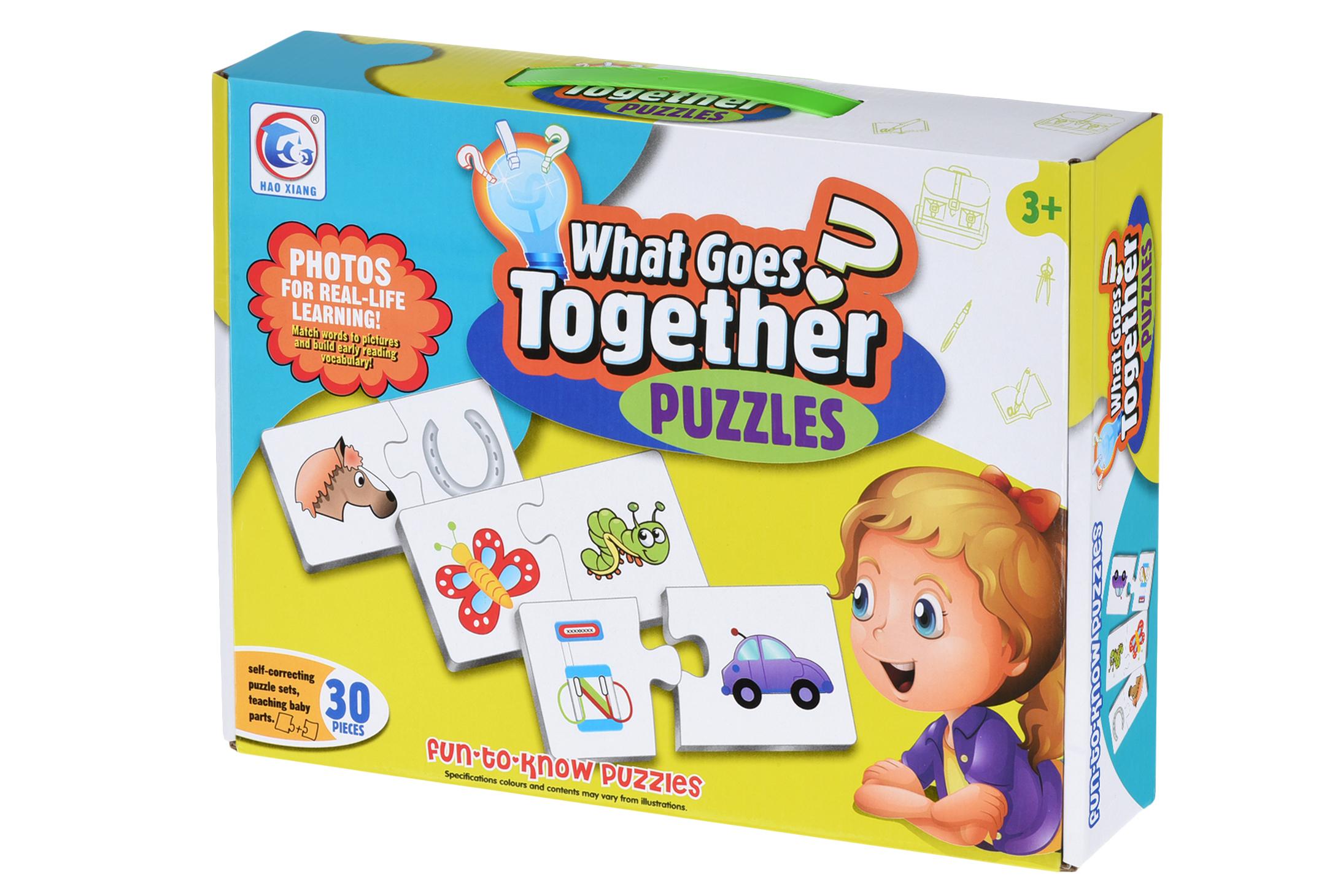 Same Toy Пазл Что должно быть вместе?