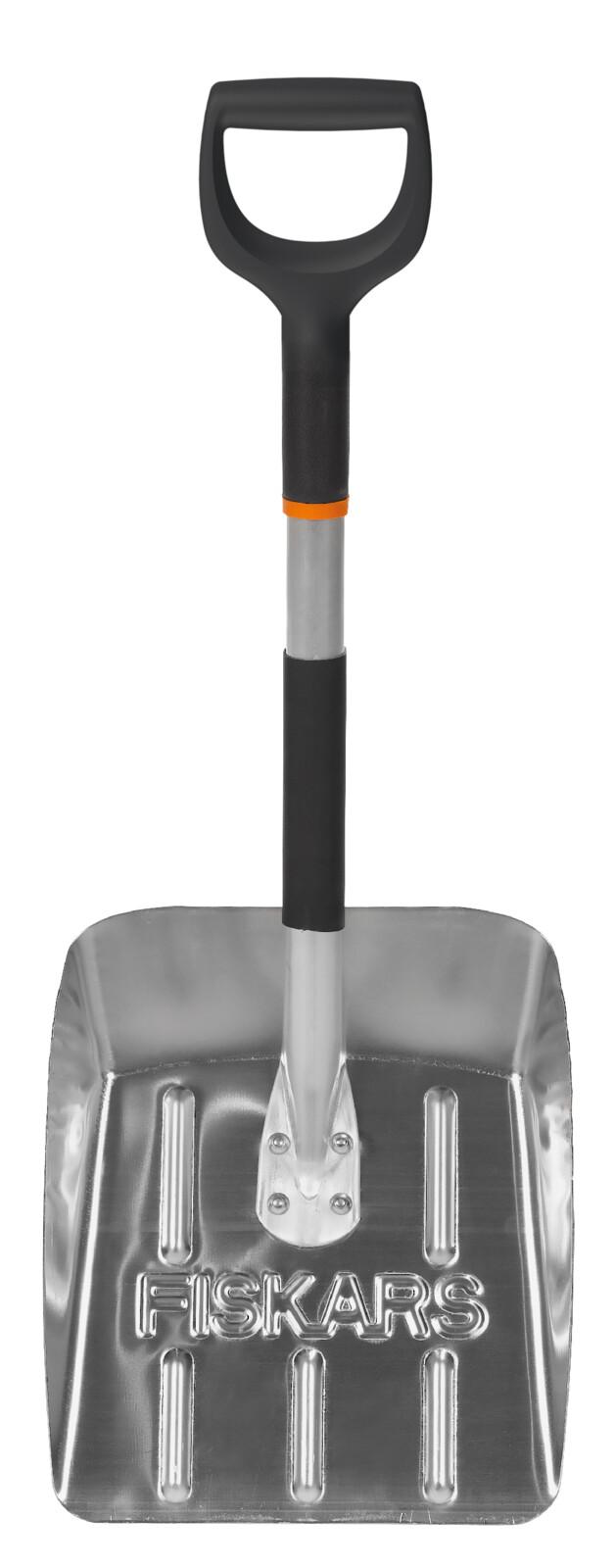 Fiskars Лопата автомобильная для снег облегченная, 71,5 см, 750г