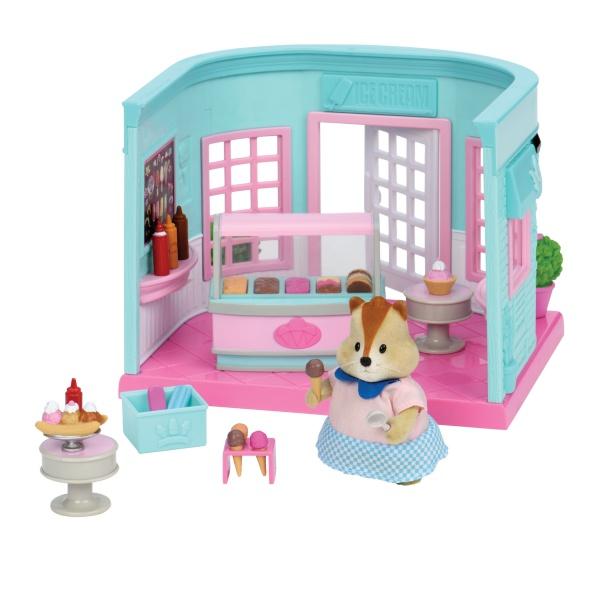 Li`l Woodzeez Ігровий набір - Павільйон із морозивом (маленький)