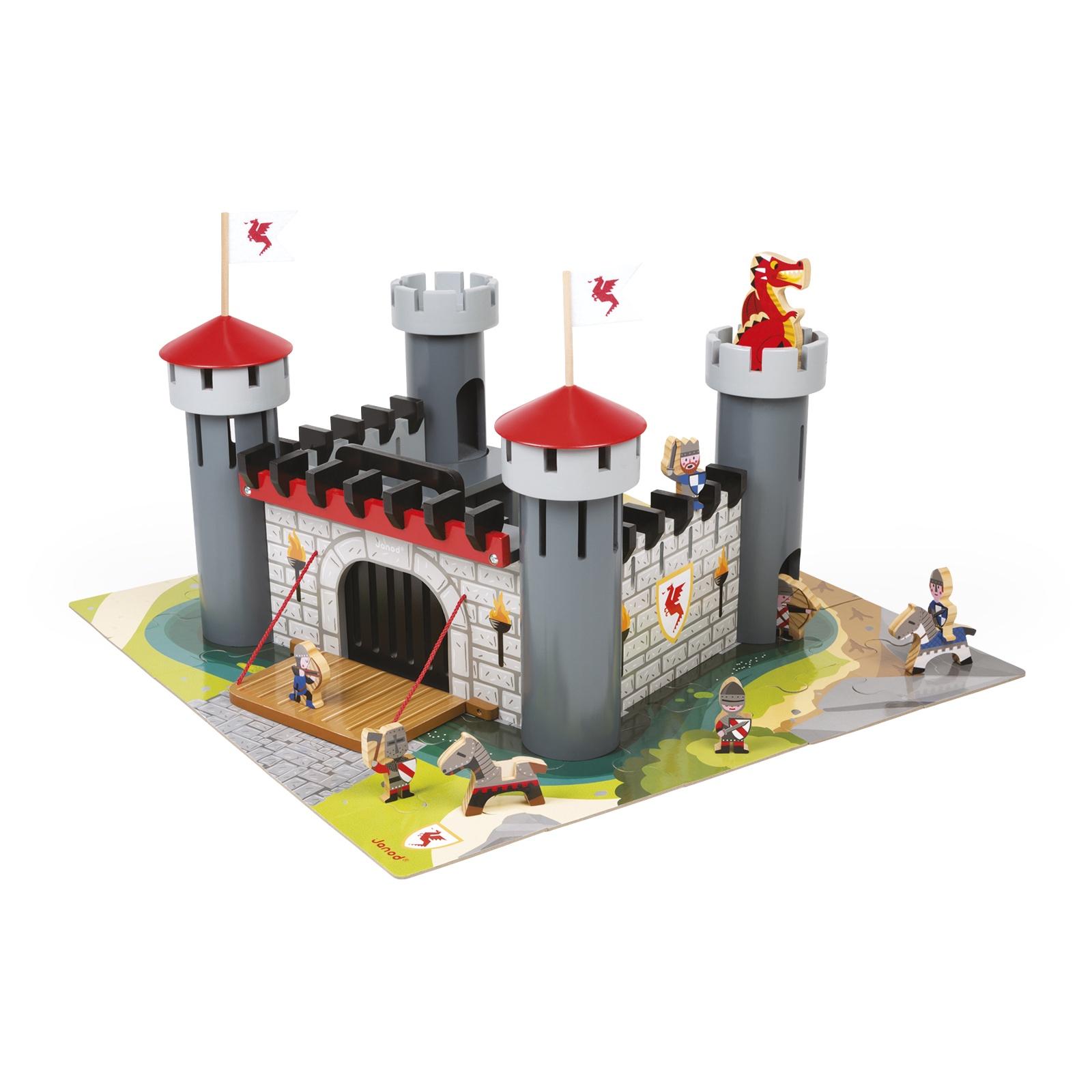 Janod Игровой набор -  Замок Дракона