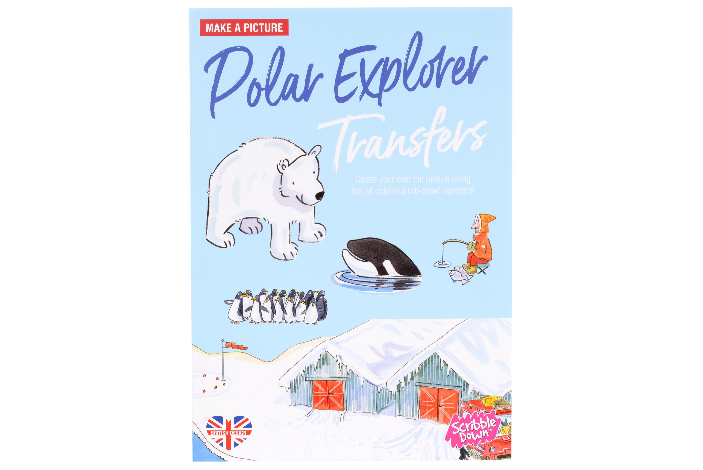 Scribble Down Переводные наклейки - Северный полюс