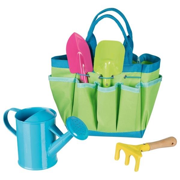 goki Игровой набор - Садовые инструменты в сумке