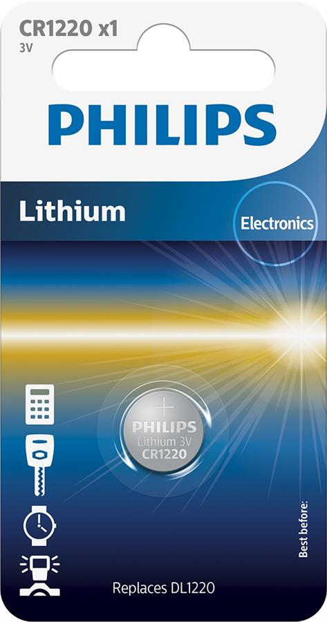 Philips Lithium CR[CR1220/00B]