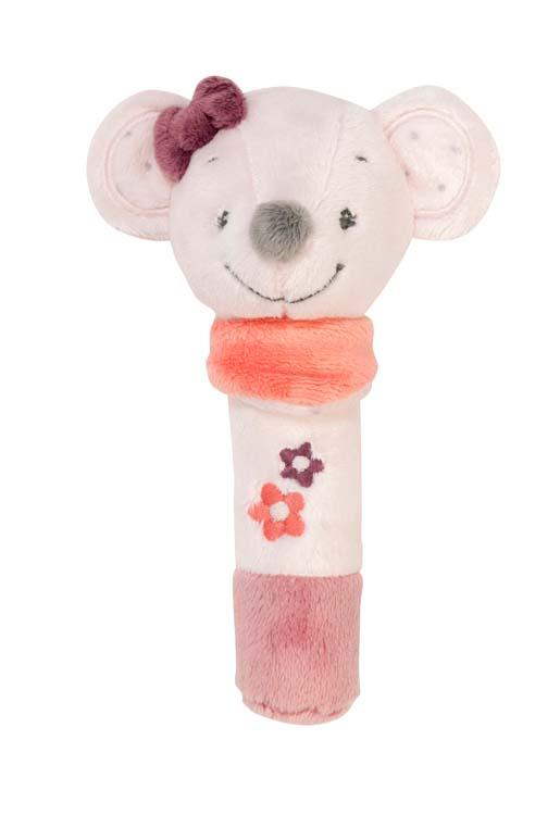 Nattou Погремушка шуршащая мышка Валентина