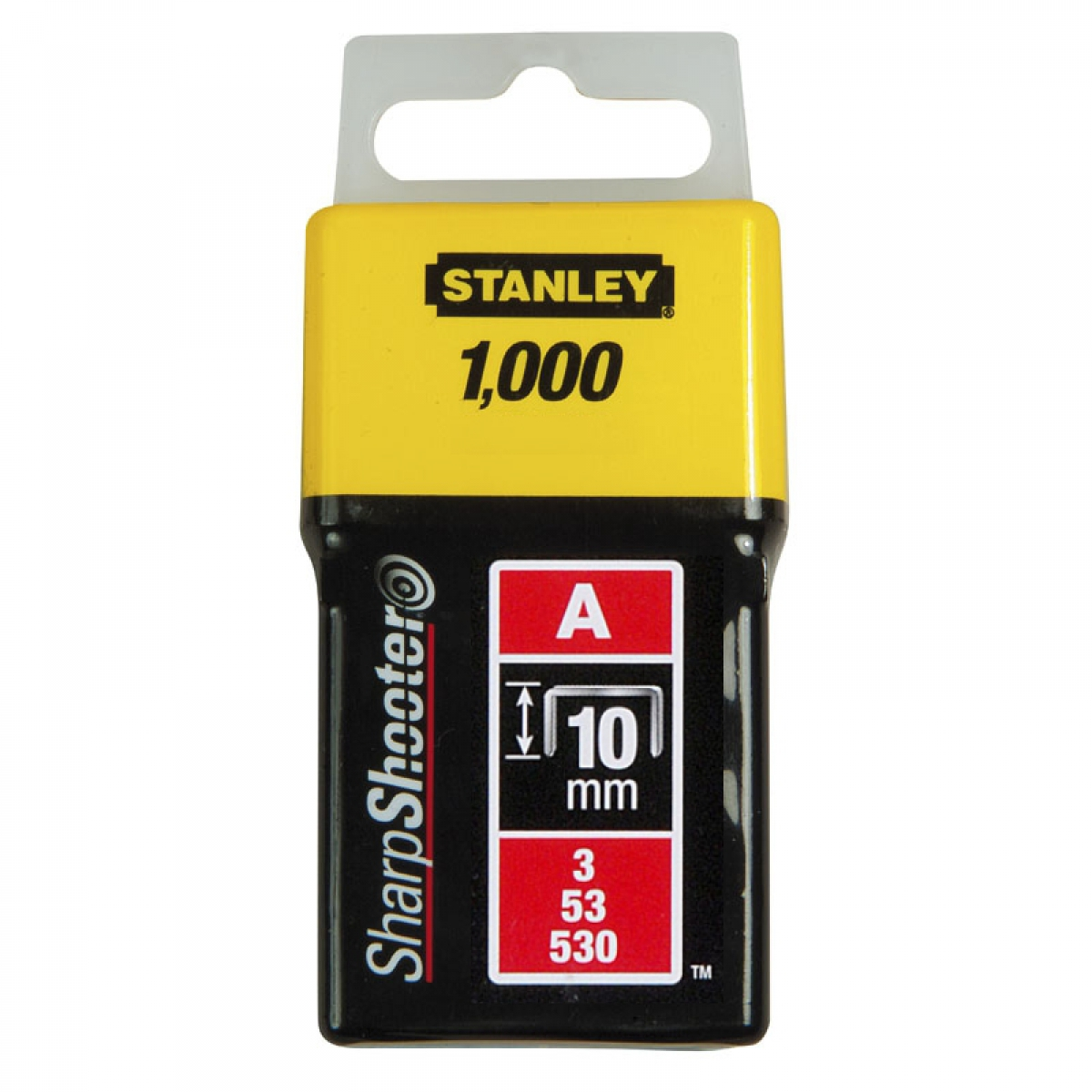 Stanley 1-TRA206T Скобы 10мм (1000шт.) (блистер)
