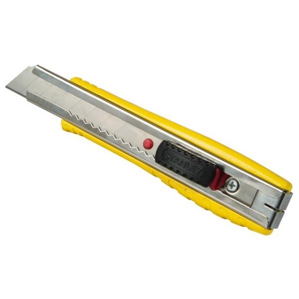Stanley 8-10-421 Ніж 18 мм сегментоване Лезо 155мм FatMax металевий (12шт Мерч упаковка)