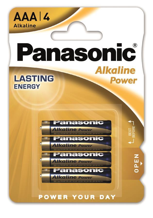 Panasonic ALKALINE POWER AAA[BLI 4]