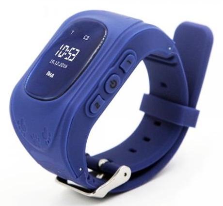 GoGPSme телефон-часы с GPS трекером K50[K50DBL]