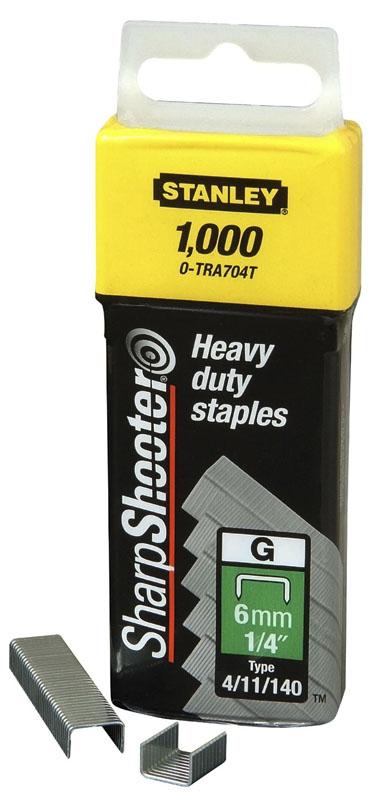 Stanley 1-TRA706T Скоби тип G 10мм (Степлер Stanley 6-TR250, 6-TR151Y) 1000шт