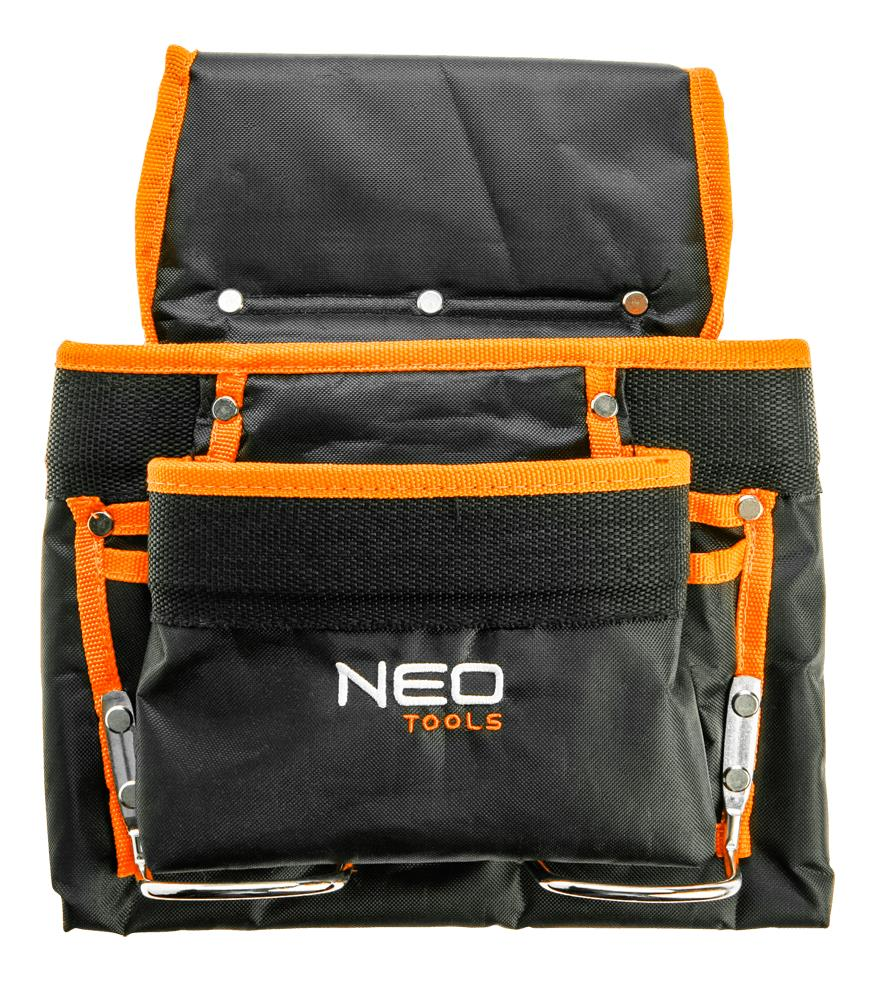 Neo Tools 84-334 Карман для инструмента, 8 гнезд, металлические петли