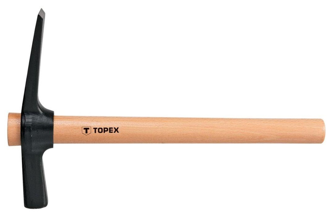 Topex 02A675  Молоток-кирочка 700 г, рукоятка деревянная