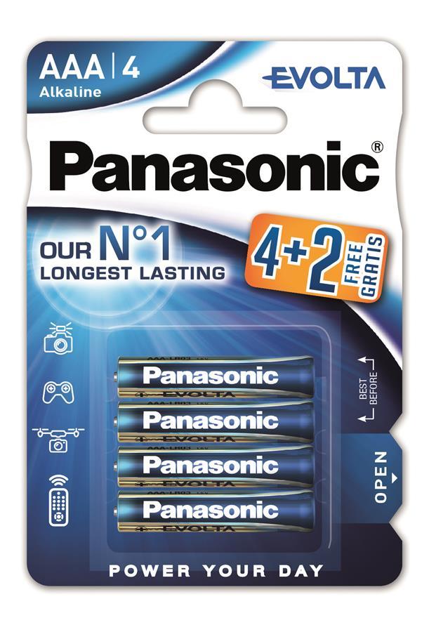 Panasonic EVOLTA AAA BLI(4+2) ALKALINE