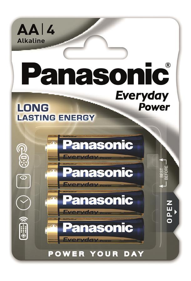 Panasonic EVERYDAY POWER AA[BLI 4 ALKALINE]