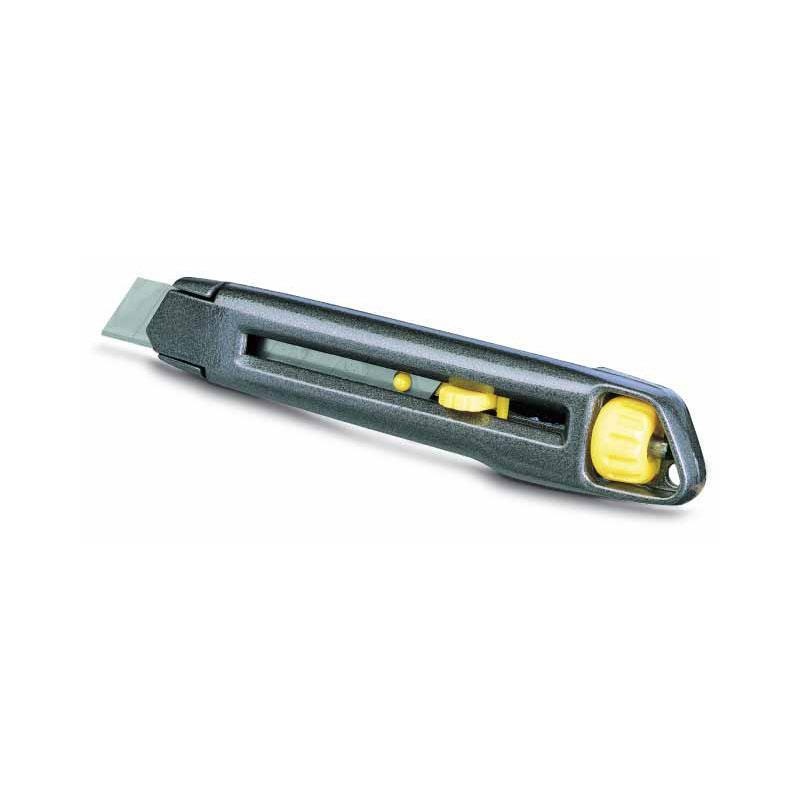 Stanley 0-10-018 Нож Interlock 18мм , сегментированное лезвие 165мм, металл