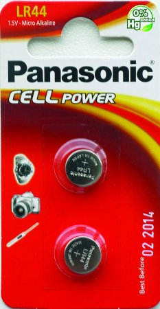 Panasonic LR44 BLI 2