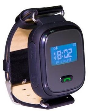 GoGPSme телефон-годинник з GPS трекером K10[K10BK]