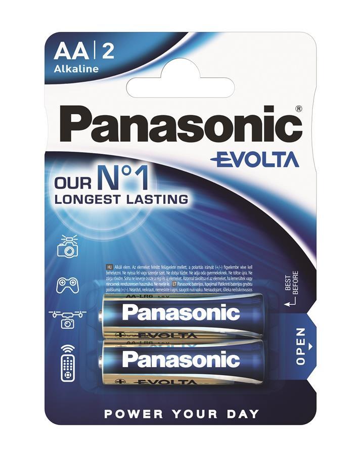 Panasonic EVOLTA AA[BLI 2 ALKALINE]