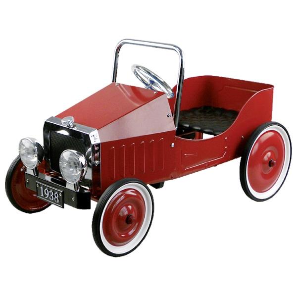 goki Педальная машинка Ретро (красная)
