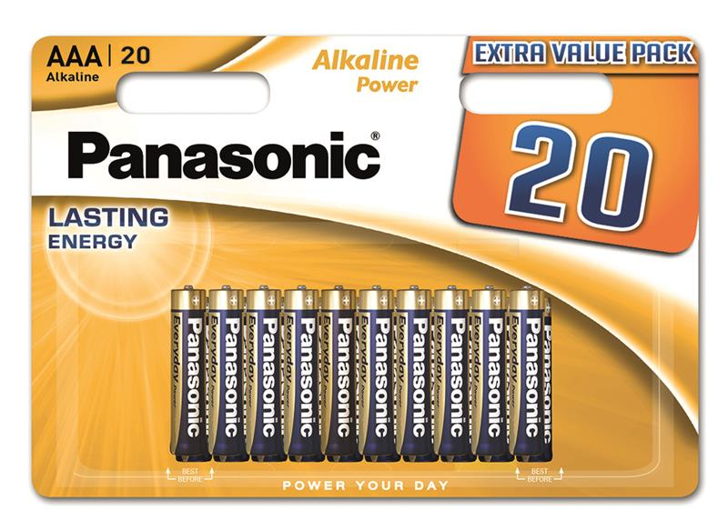 Panasonic ALKALINE POWER AAA[BLI 20]