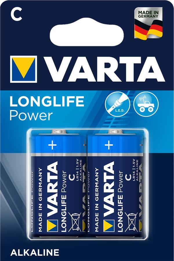 VARTA LONGLIFE POWER C BLI 2 ALKALINE