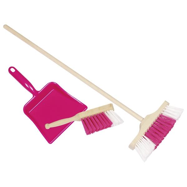 goki Ігровий набір Прибирання (рожевого кольору)