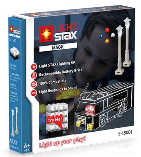 LIGHT STAX Конструктор з LED підсвічуванням Magic Tuning LS-S15001