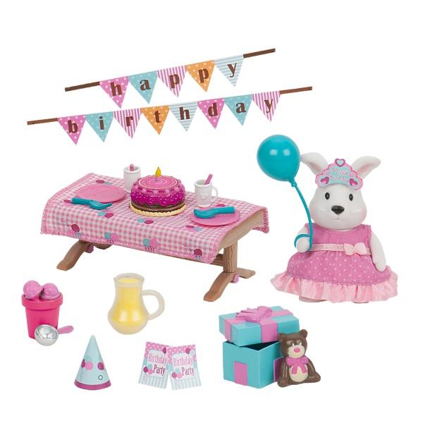 Li`l Woodzeez Игровой набор - День рождение