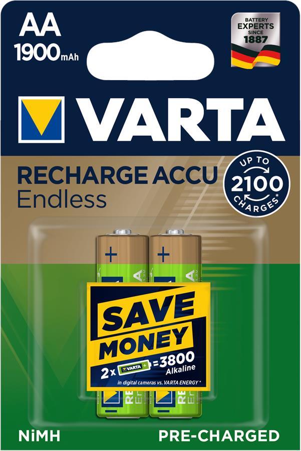 VARTA ENDLESS AA (RECHARGEABLE ACCU)[BLI 2]