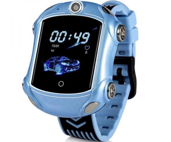 GoGPSme Детские телефон-часы с GPS трекером GOGPS ME X01[X01BL]