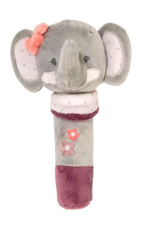 Nattou Погремушка шуршащая слоник Адель